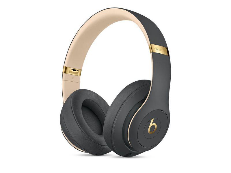 Apple Beats Over-Ear Kopfhörer Studio3 Wireless Grau, Verbindungsmöglichkeiten: Bluetooth; 3.5mm Klinke, Impedanz: 2 ?, Kopfhörer Trageform: Überkopfbügel, Kopfhörer Bauform: Geschlossen, Einsatzbereich: Studio & Broadcast; DJ; HiFi & TV; Lifestyle,