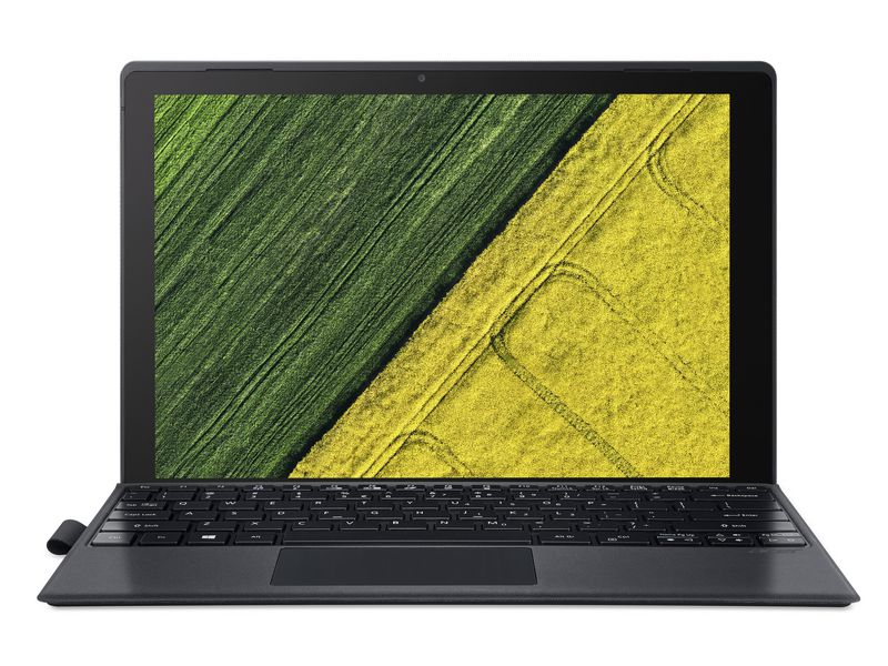 Acer 2in1 Switch 5 (SW512-52-56RT), Intel Core i5-7200U, 8GB DDR3 RAM, 256GB SSD, 12 Zoll, 2160 x 1440 Pixel, Windows 10 Home