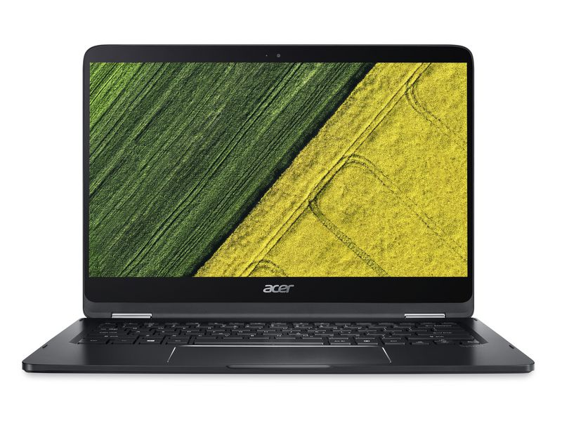 Acer Notebook Spin 7 (SP714-51), Intel Core i5-7Y54, 8GB DDR3 RAM, 256GB SSD, 14 Zoll, 1920 x 1080 Pixel, Windows 10 Home