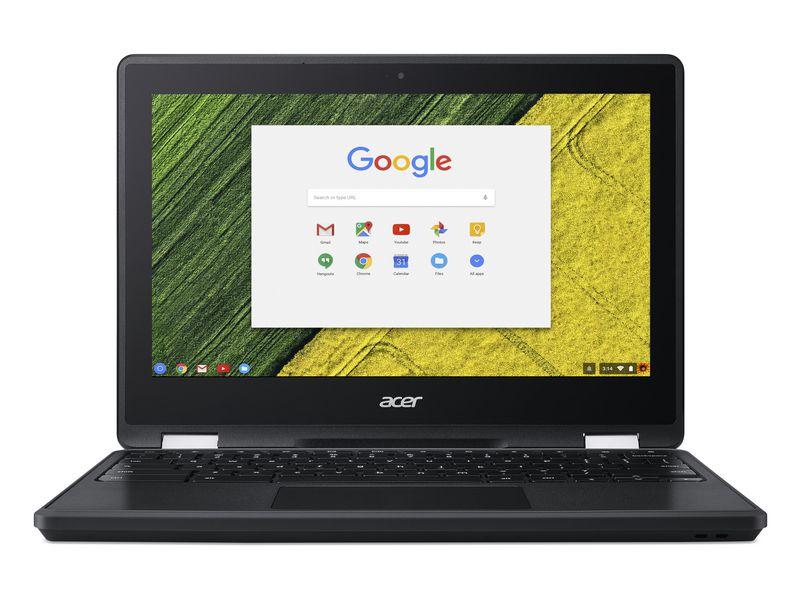Acer Notebook Chromebook R751TN1, Intel Celeron N3350, 4GB DDR4 RAM, 32GB SSD, 11.6 Zoll, 1366 x 768 Pixel, Chrome OS