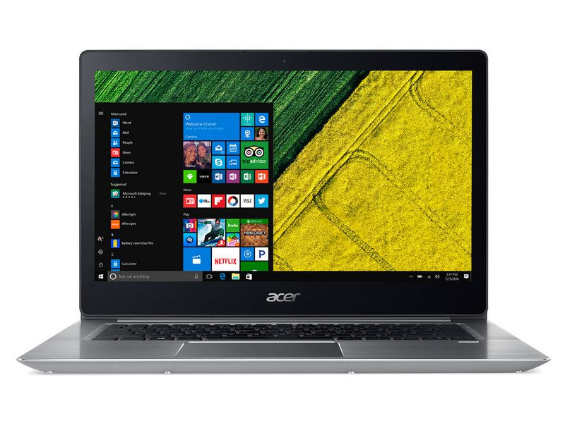 Acer Notebook Swift 3 SF314-52-52RM, Intel Core i5-8250U, 8GB DDR4 RAM, 256GB SSD, 14 Zoll, 1920 x 1080 Pixel, Windows 10 Home