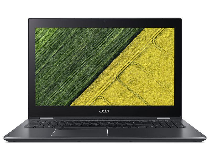 Acer Notebook Spin 5 (SP515-52N), Intel Core i5-8250U, 8GB DDR4 RAM, 1TB HDD + 256GB SSD, 15.6 Zoll, 1920 x 1080 Pixel, Windows 10 Home
