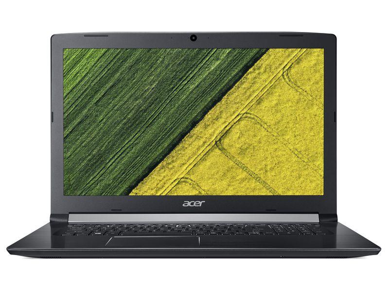 Acer Notebook Aspire 5 (A517-51G-869V), Intel Core i7-8550U, 12GB DDR4 RAM, 1TB HDD + 256GB SSD, 17.3 Zoll, 1920 x 1080 Pixel, Windows 10 Home