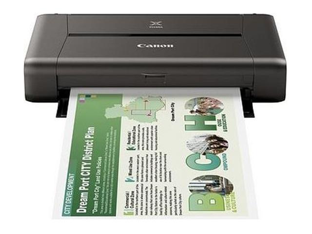 Canon PIXMA IP110, Farbe Tintenstrahl Drucker, A4, 9 Seiten pro Minute, Drucken, Duplex und WLAN