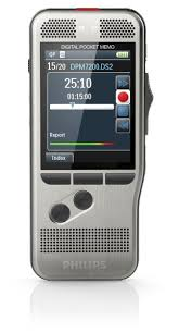 Digital Pocket Memo 7200, Voicerecorder, Philips Schiebeschalter
