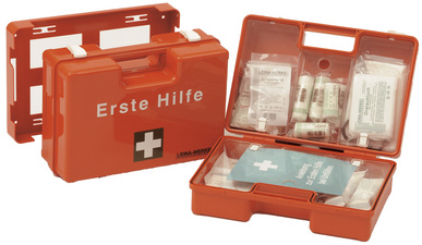 LEINA Erste-Hilfe-Koffer MAXI,Inhalt DIN 13157,orange