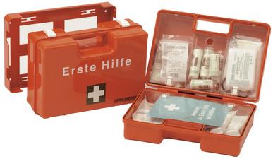 LEINA Erste-Hilfe-Koffer MAXI,Inhalt DIN 13169,orange