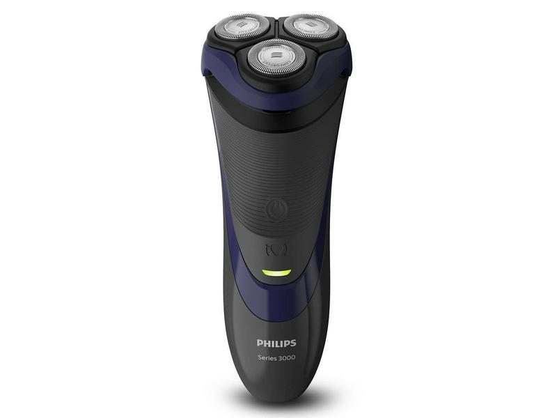 Philips Rasierer Series 3000 S3120/06 Typ: Elektrorasierer, Betriebsart: Akkubetrieb, Kabel, Rasierart: Trocken, Körperbereich: Gesicht, Zielgruppe: Herren