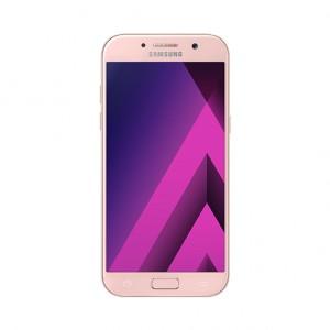 Samsung SM-A520 Galaxy A5 (2017), 5.2 Zoll Super AMOLED, 1920 x 1080 Pixel, 16 MP Hauptkamera & 16 MP Frontkamera, 3 GB RAM, 32 GB ROM, 4G/LTE, 8 Kerne/1.9 GHz, 3000 mAh, Peach