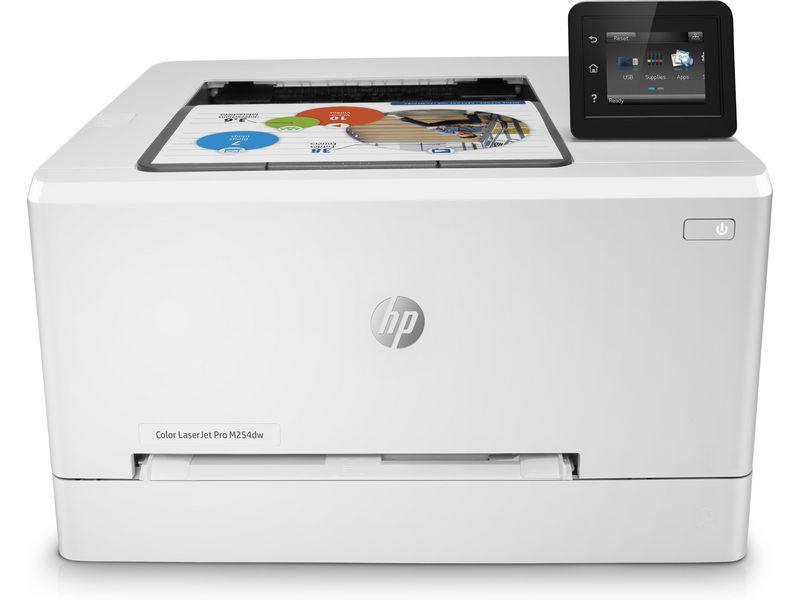 Hewlett-Packard HP M254dw, Farblaser Drucker, A4, 21 Seiten pro Minute, Drucken, Duplex und WLAN
