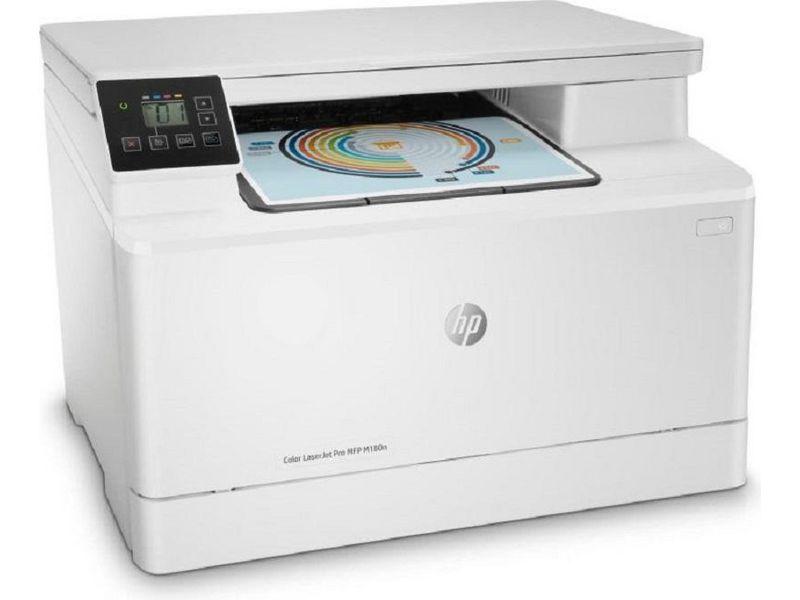 Hewlett-Packard HP MFP M180n, Farblaser Drucker, A4, 16 Seiten pro Minute, Drucken, Scannen, Kopieren