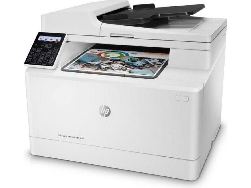 Hewlett-Packard HP LaserJet Pro MFP M181fw, Farblaser Drucker, A4, 16 Seiten pro Minute, Drucken, Scannen, Kopieren, Fax und WLAN