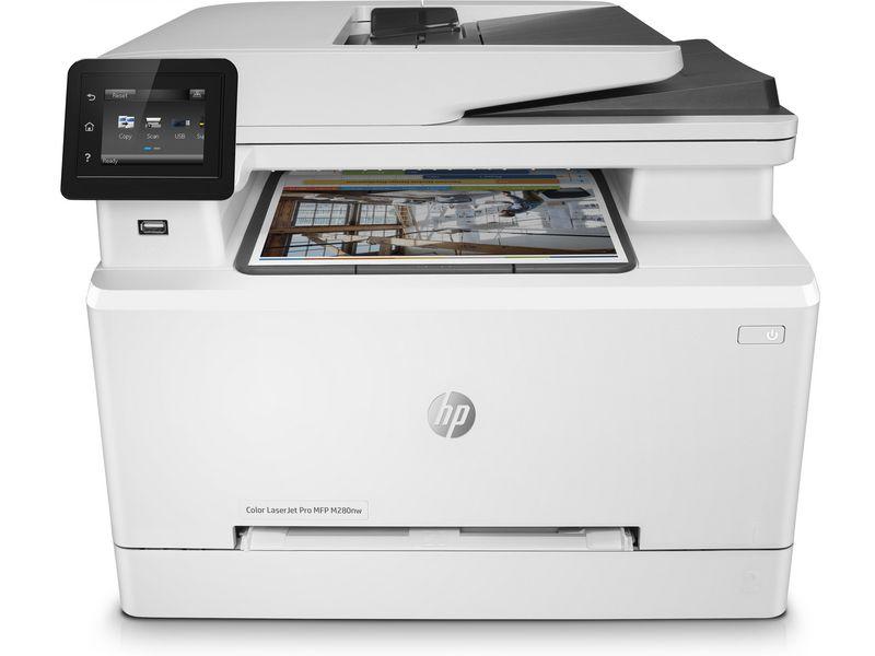 Hewlett-Packard HP Color LaserJet Pro MFP M280nw, Farblaser Drucker, A4, 21 Seiten pro Minute, Drucken, Scannen, Kopieren, Fax, Duplex und WLAN