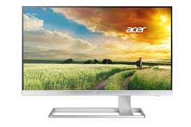 Acer S277, 27 Zoll LED, 3840 x 2160 Pixel, DVI HDMI, Weiss