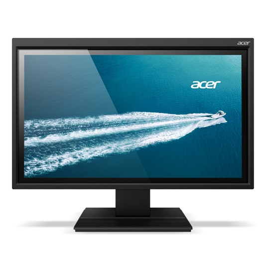 ACER B226HQLAYMIDR, 21.5 Zoll LED, 1920 x 1080 Pixel Full-HD, DVI VGA HDMI USB, Dunkelgrau