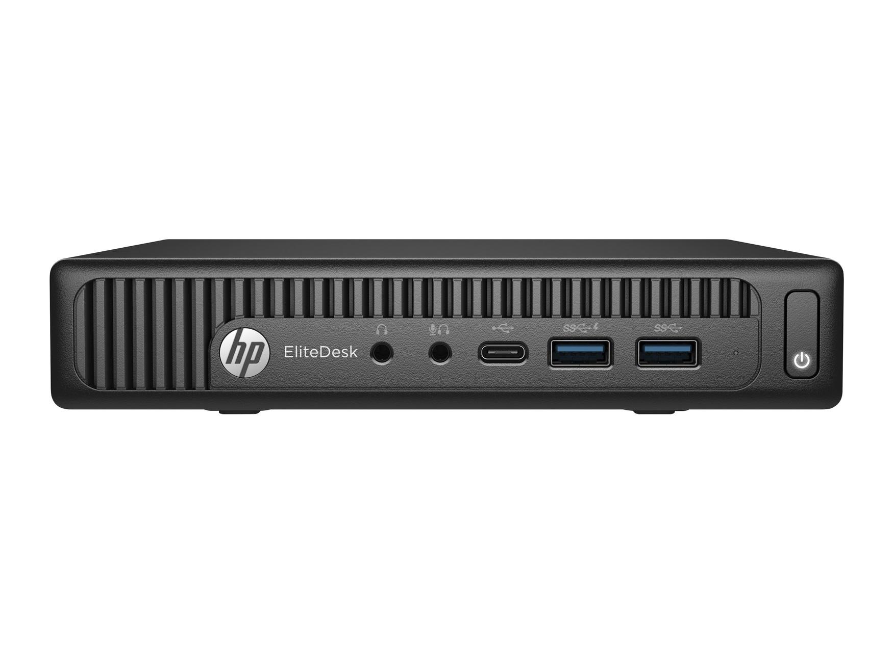 HP EliteDesk 800 G2 DM (Mini) Intel i5-6500T 1x4GB RAM 500GB HDD SATA NO Keyboard NO Mouse WLAN Windows 10 Pro