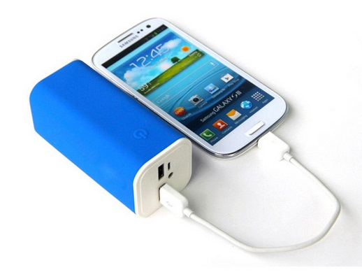 ThumBox Power Tube 10400 Akkupack Navy Blue, 10400mAh-Akku, 2 USB-Ausgänge mit 1x 2100mAh