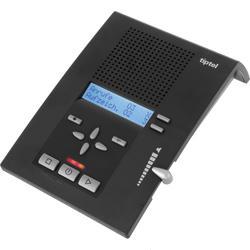 tiptel 309 Anrufbeantworter analog, 2 individuelle Ansagen, 1 vorgegebene Ansage, Fernabfrage,