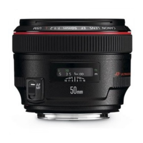 Canon Festbrennweite Objektiv EF 50mm f / 1.2L USM, inkl. EWS Warranty Card,