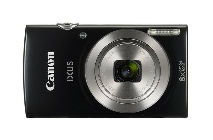 Canon Kompaktkamera IXUS 185 schwarz Bildsensortyp: CCD, Bildsensor Auflösung: 20 Megapixel, Widerstandsfähigkeit: Keine, Speicherkartentyp: SD, SDHC, SDXC, Bauform Kamera: Kompakt, Farbe: Schwarz, Bildschirmdiagonale: 2.7 \