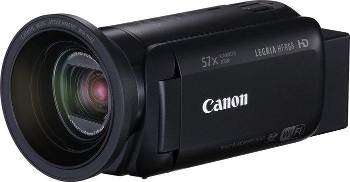 Canon Camcorder Legria HF R88 schwarz Widerstandsfähigkeit: Keine, Bildschirmdiagonale: 3 \