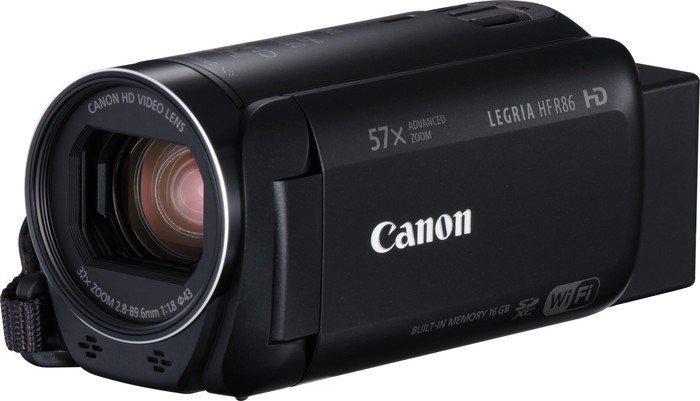 Canon Camcorder Legria HF R86 schwarz Widerstandsfähigkeit: Keine, Bildschirmdiagonale: 3 \