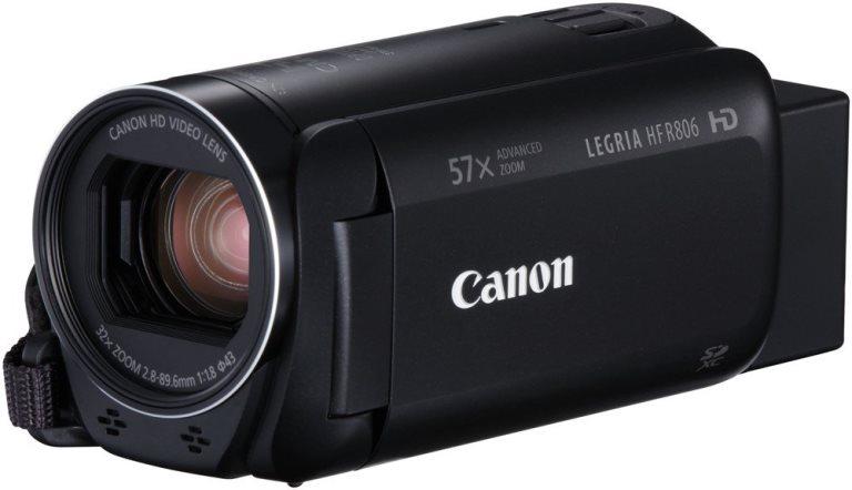 Canon Camcorder Legria HF R806 schwarz Widerstandsfähigkeit: Keine, Bildschirmdiagonale: 3 \