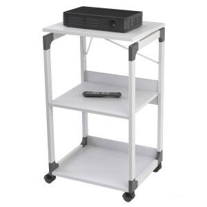 DURABLE Bürowagen SYSTEM für Overhead/Beamer,3 Böden,grau
