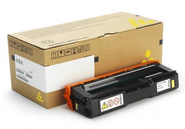 Ricoh Toner SP C252E Yellow Druckleistung Seiten: 4000 ×, Toner/Tinte Farbe: Yellow