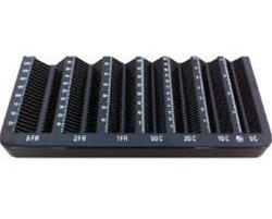 Münzzähler Einlage PCK-41 II, CHF, Passend zu Kassenschublade PCK-41 II,