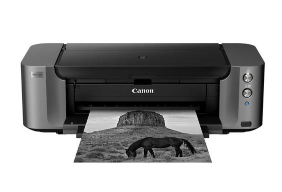 Canon Pixma PRO-10S, Schwarzweiss Tintenstrahl Drucker, A3, 3.58 Seiten pro Minute, Drucken