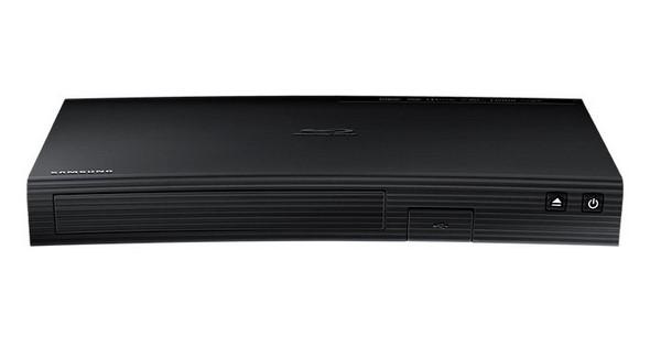 Samsung BD-J5500, BlueRay Player, schw curved, 3D, Netflix, LAN, Opera APP