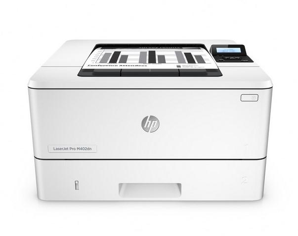 Hewlett-Packard HP LaserJet Pro M402dne, Schwarzweiss Laser Drucker, A4, 38 Seiten pro Minute, Drucken, Duplex