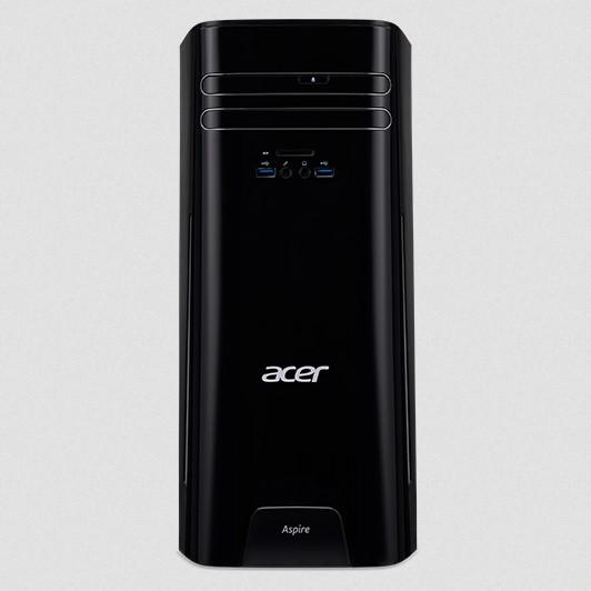 Acer PC Aspire ATC-780 Speichertyp: HDD, SSD, Servicetyp: Bring-in, Prozessorfamilie: Intel Core i7 (7xxx), Anwendungsbereich: Consumer, Speicherkapazität total: 1256 GB, Verbauter Arbeitsspeicher: 16 GB, Betriebssystem: Windows 10 Home 64 Bit, Dediz