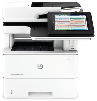 Hewlett-Packard HP Enterprise MFP M527F, Schwarzweiss Laser Drucker, A4, 43 Seiten pro Minute, Drucken, Scannen, Kopieren, Fax, Duplex