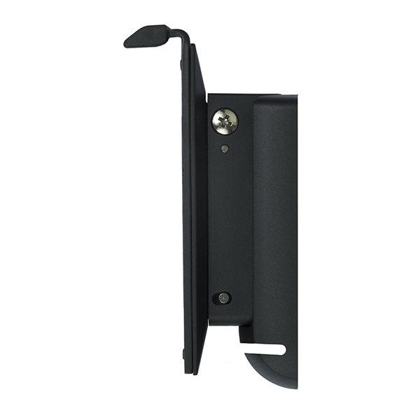 Flexson Wandhalterung für Sonos PLAY:1 Paar, schwarz, schwenkbar, neigbar, deckenmontage möglich