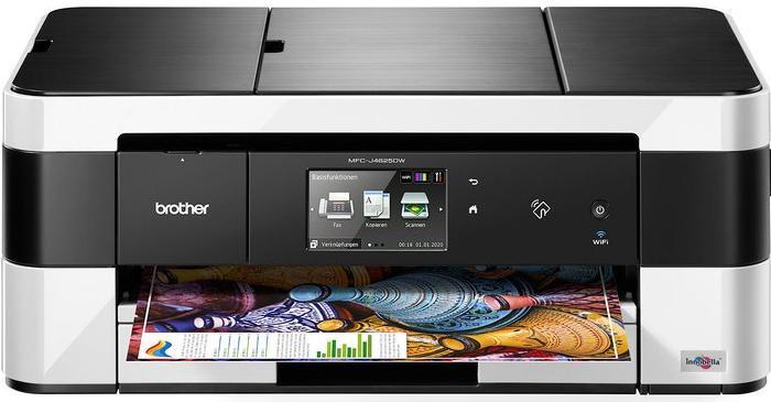 Brother MFCJ4620DWC1, Tintenstrahl Drucker, A3, 22 Seiten pro Minute, Drucken, Scannen, Kopieren, Fax, Duplex und WLAN