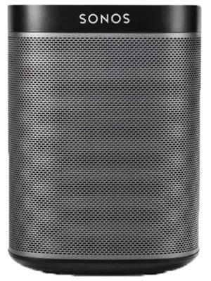 Sonos PLAY:1, schwarz, Zonen Player, Netzwerk-Musik-Player mit Lautsprecher,