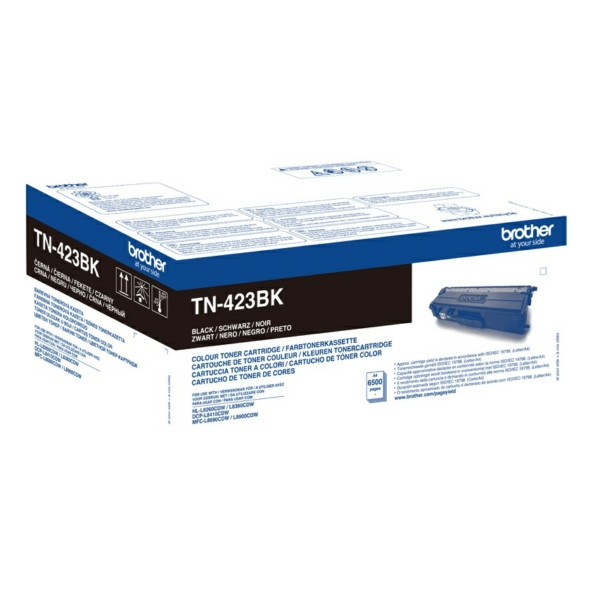 Brother Toner TN-423BK Black High Yield Toner