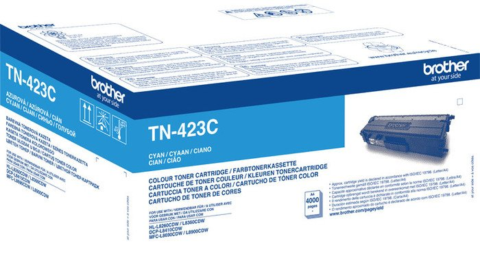 Brother Toner TN-423C Cyan High Yield Toner