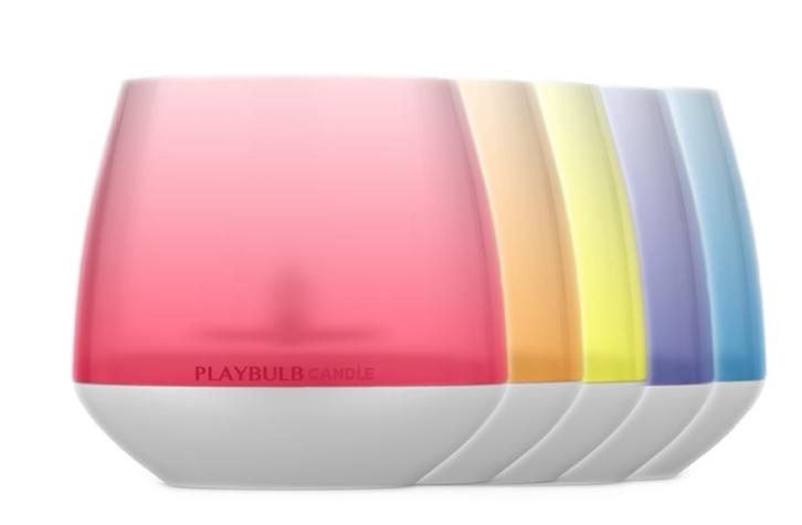 MiPow Playbulb Candle, 30mW Bluetooth LED-Ambilight mit 16 Mio. Farben,