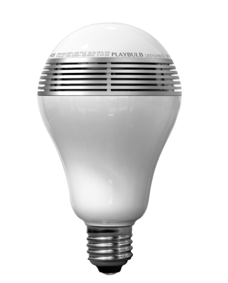 MIPOW - Playbulb LED WW - White - Connected bulb - Compatible with most fixtures - Compatible IOS / Android - Integrated Speaker - Adjustable temperature and intensity - Free app Playbulb X - Frequency Response 135Hz to 15KHz - Speaker Power 3W RMS -