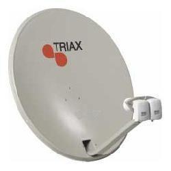 TRIAX TDS78 hellgrau, Satelliten-Antenne 78cm, Stahl