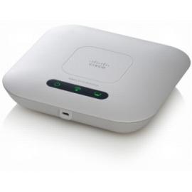 WAP321 Access Point mit Wireless-N Access Point, mti PoE (IEEE 802.3af), Frequenzband wählbar, WDS-Bridge, Client Bridge-Modus, Wi-Fi Protected Access (WPA2), WMM-Unterstützung, 802.1X, IPv6, Anbringung an Decke, Wand oder Schreibtisch. Netzte
