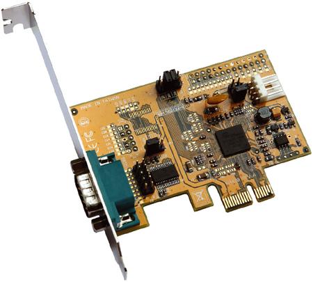 Serielle 16C550 RS-232 PCI-Express Karte (Oxford)